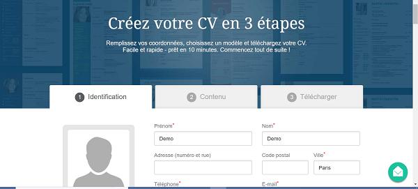 create CV 01